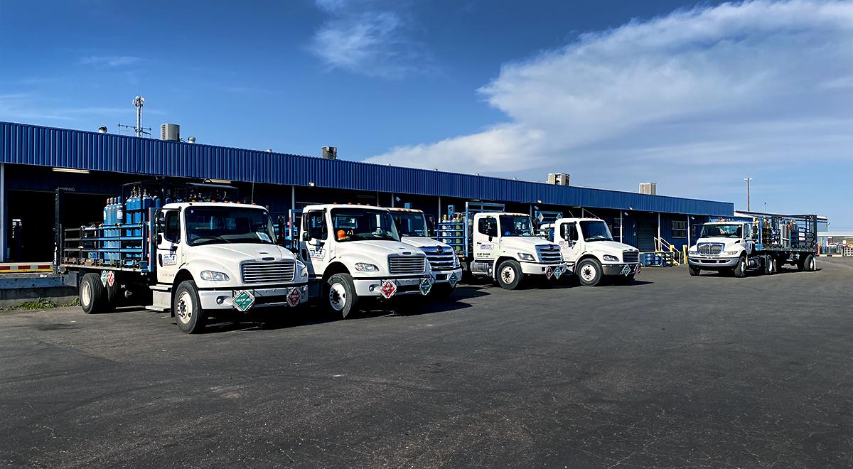 delivery truck fleet