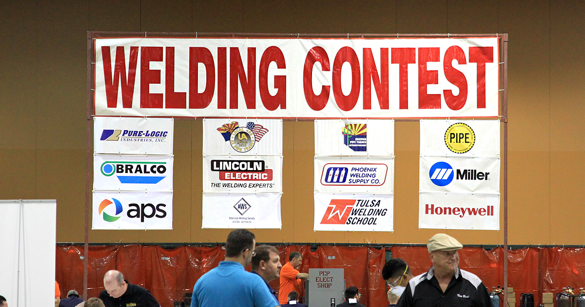 skills usa welding contest
