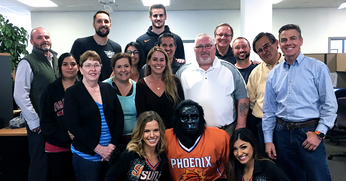 phoenix suns at phoenix welding supply